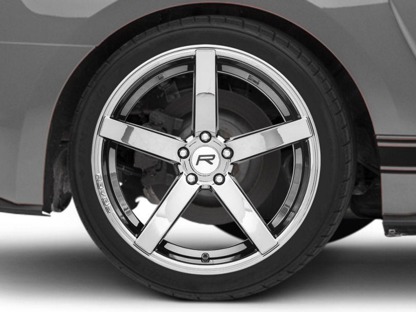 Rovos Durban Black Chrome Wheel - 20x10 - Rear Only (15-20 GT, EcoBoost, V6)