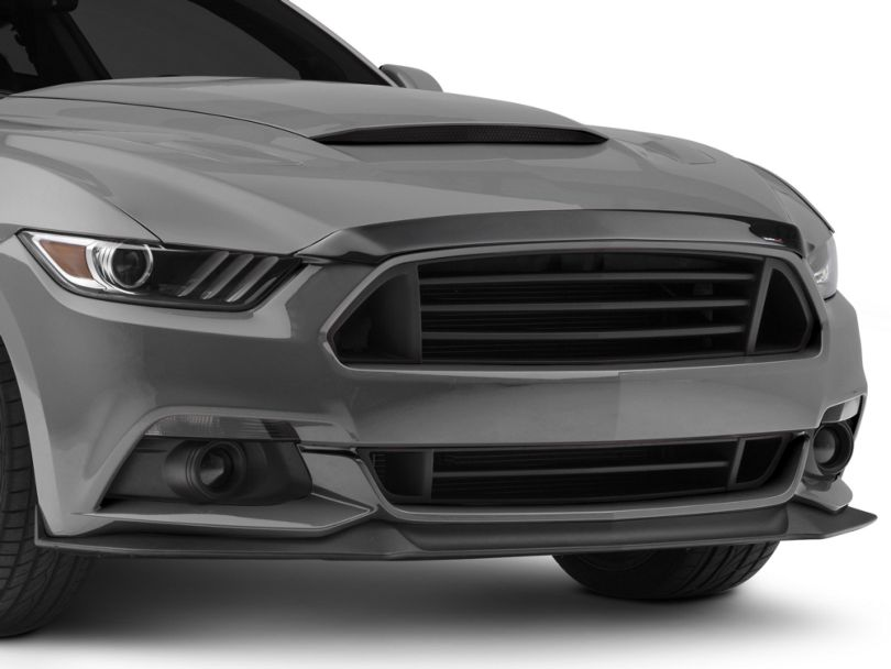 Weathertech Low Profile Hood Protector - Dark Smoke (15-17 GT, EcoBoost, V6)
