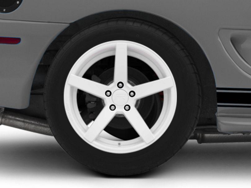 Rovos Durban Gloss White Wheel - 18x10.5 - Rear Only (94-98 All)