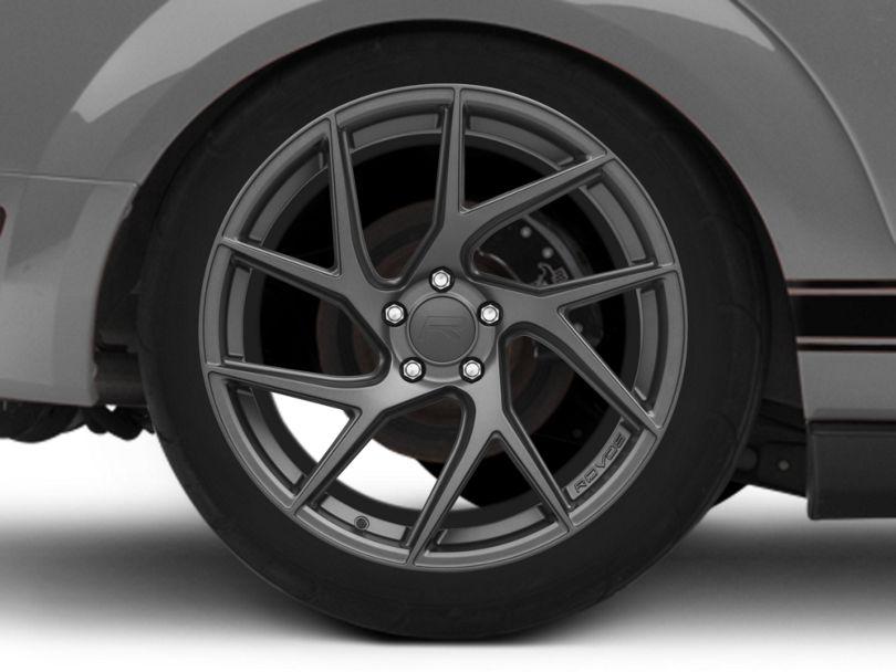Rovos Joburg Satin Gunmetal Wheel - 20x10 - Rear Only (05-09 All)