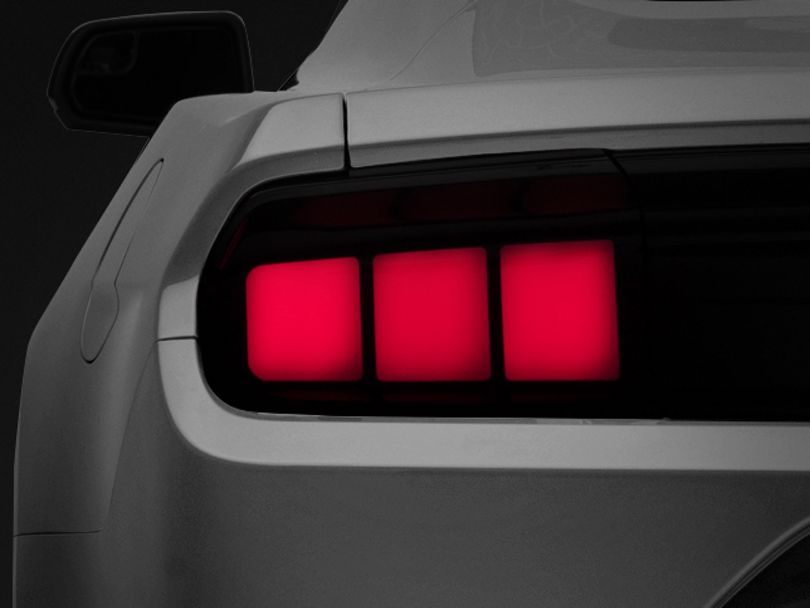 Raxiom Profile LED Tail Lights; Red (15-20 All)