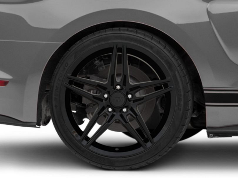 2018 Mustang Style Black Wheel - 19x10 - Rear Only (15-20 GT, EcoBoost, V6)
