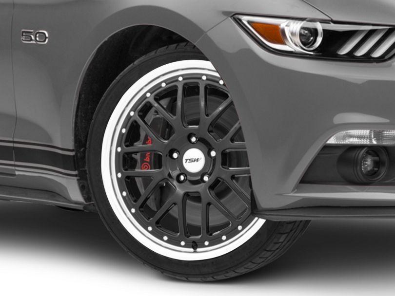 TSW Valencia Gloss Black Wheel; 19x8 (15-20 GT, EcoBoost, V6)