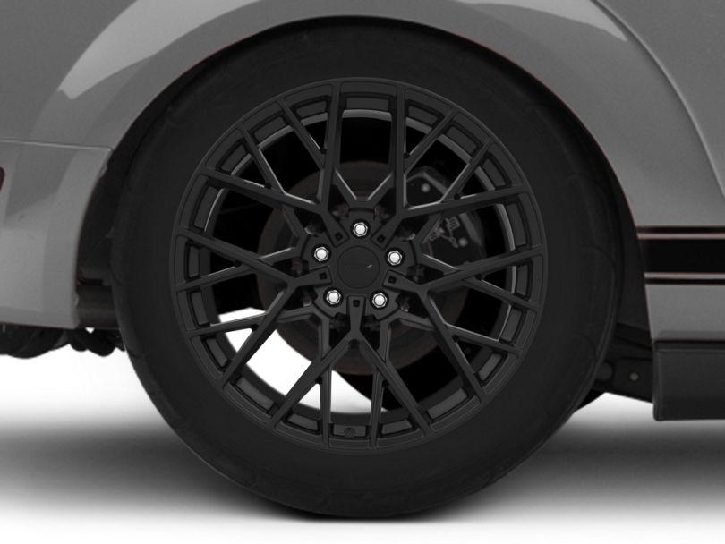 TSW Sebring Matte Black Wheel; Rear Only; 19x9.5 (05-09 All)