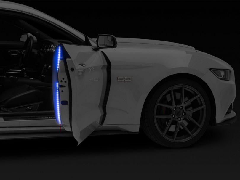 Delta Door Accent LED Light Strip - Blue (Universal Fitment)