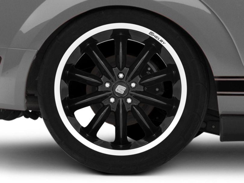 Shelby CS56 2.0 Black Wheel; Rear Only; 20x11 (05-09 All)