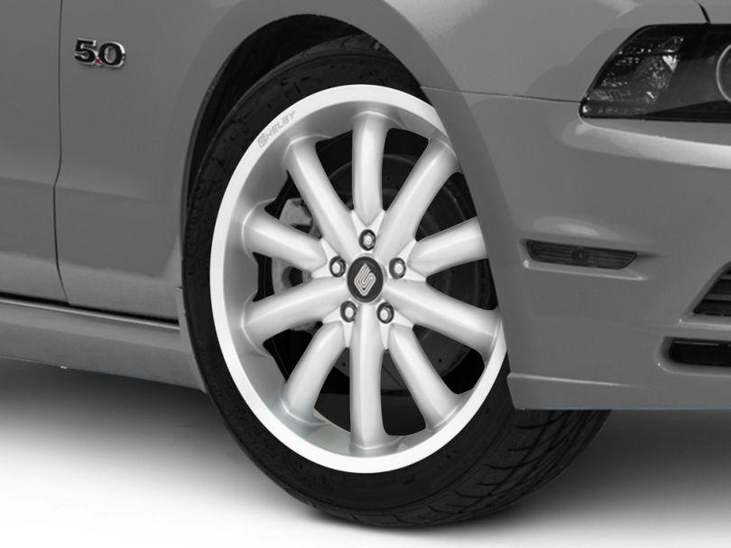 Shelby CS56 2.0 Silver Wheel; 20x9 (10-14 All)