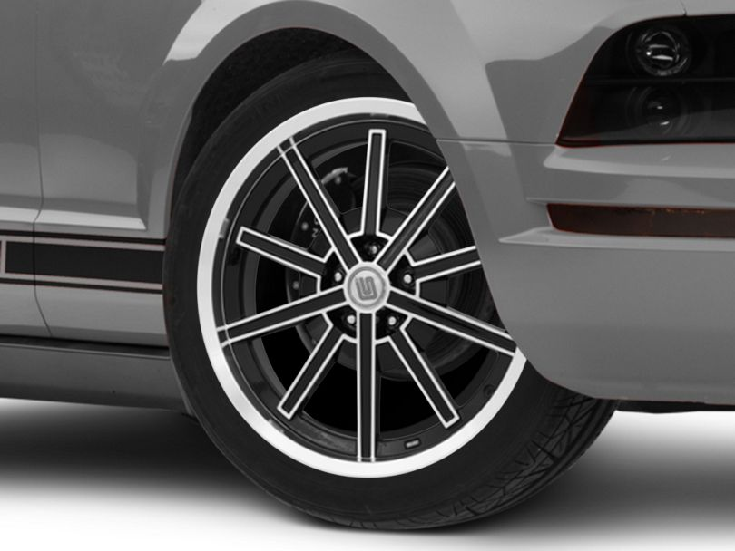 Shelby CS67 Black Wheel; 20x9 (05-09 All)