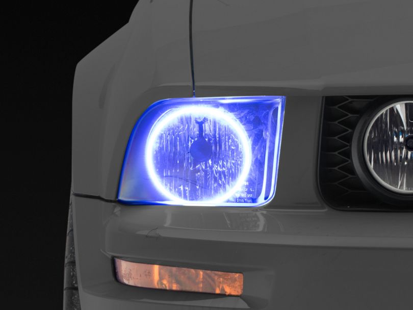 Oracle Black OE Style Headlights w/ Plasma Halos (05-09 GT, V6)