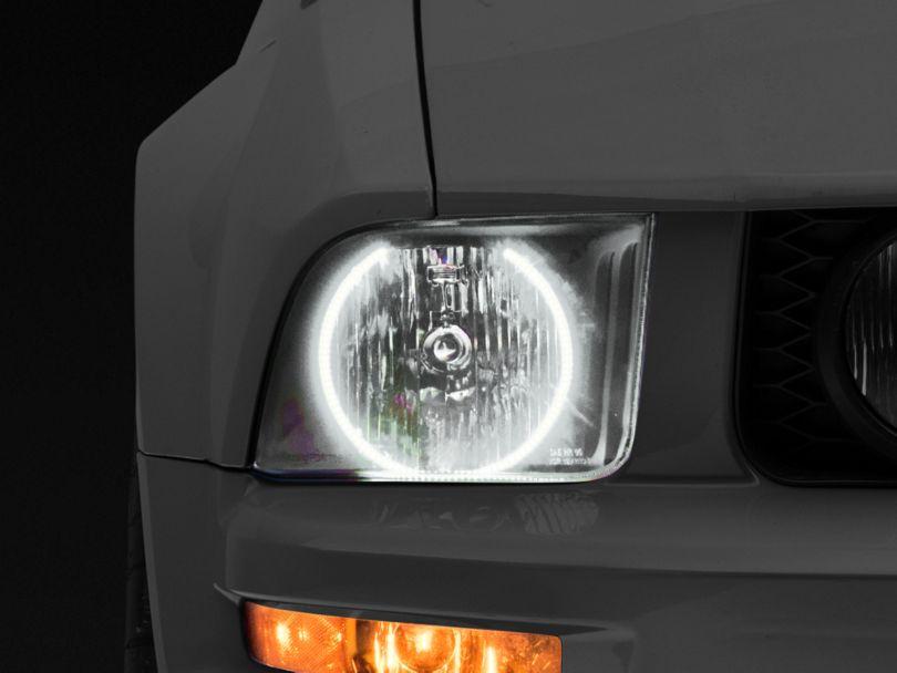 Oracle Black OE Style Headlights w/ LED Halos (05-09 GT, V6)