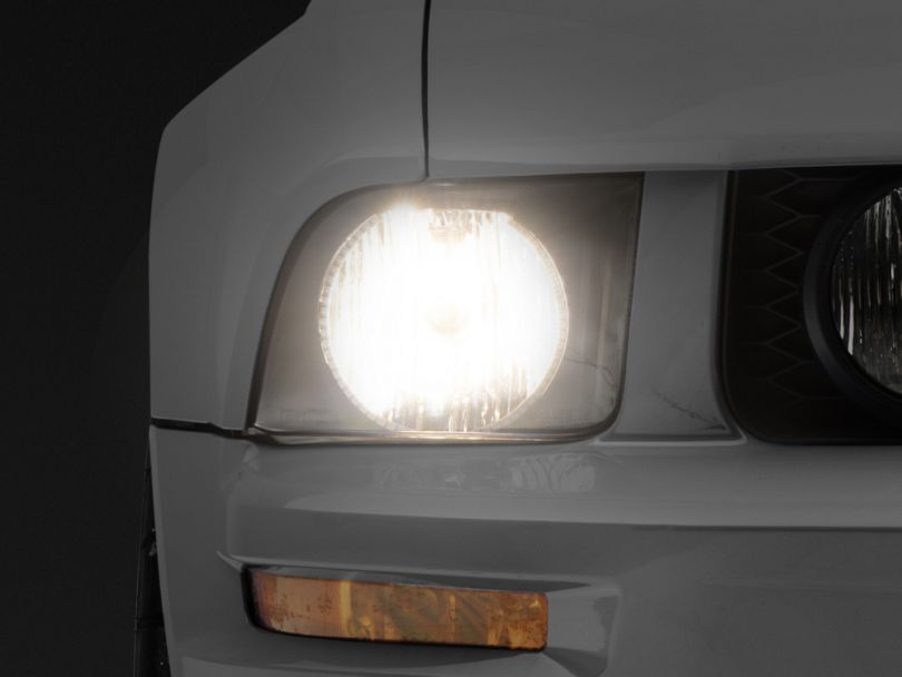 Oracle Black OE Style Headlights w/ ColorSHIFT LED Halos (05-09 GT, V6)