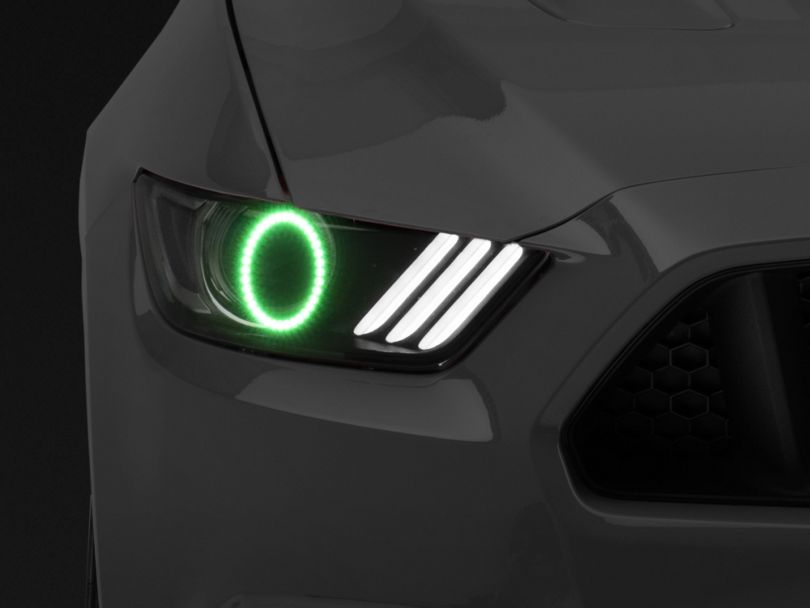 Oracle LED HeadLight Halo Conversion Kit - ColorSHIFT (15-17 All; 18-20 GT350, GT500)