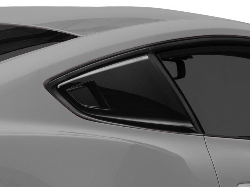 MP Concepts Quarter Window Scoops - Gloss Black (15-20 Fastback)