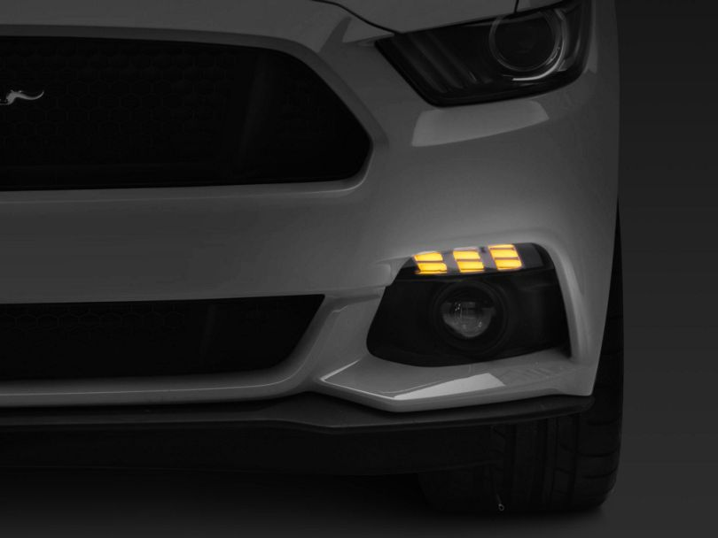 MP Concepts LED Turn Signals; Smoked (15-17 All)