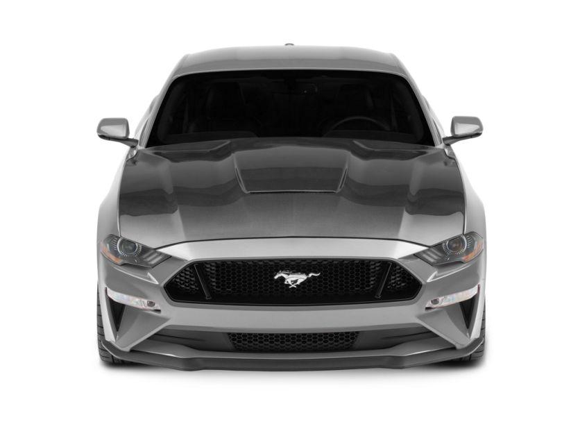 Anderson Composites Type-GR GT350 Style Hood - Carbon Fiber (18-20 GT, EcoBoost)