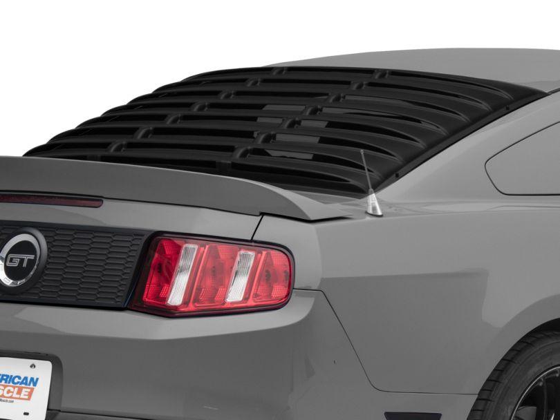 SpeedForm ABS Rear Window Louvers (05-14 Coupe)