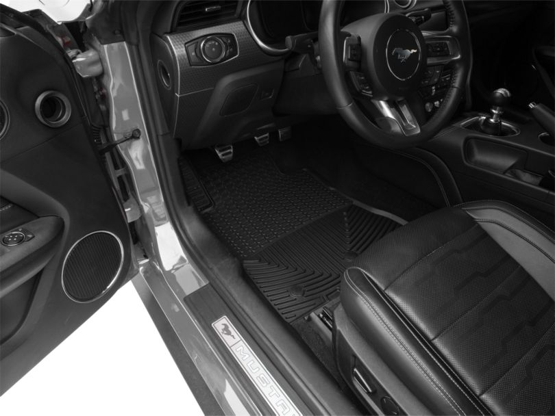 Weathertech All Weather Front Rubber Floor Mats - Black (15-20 All)