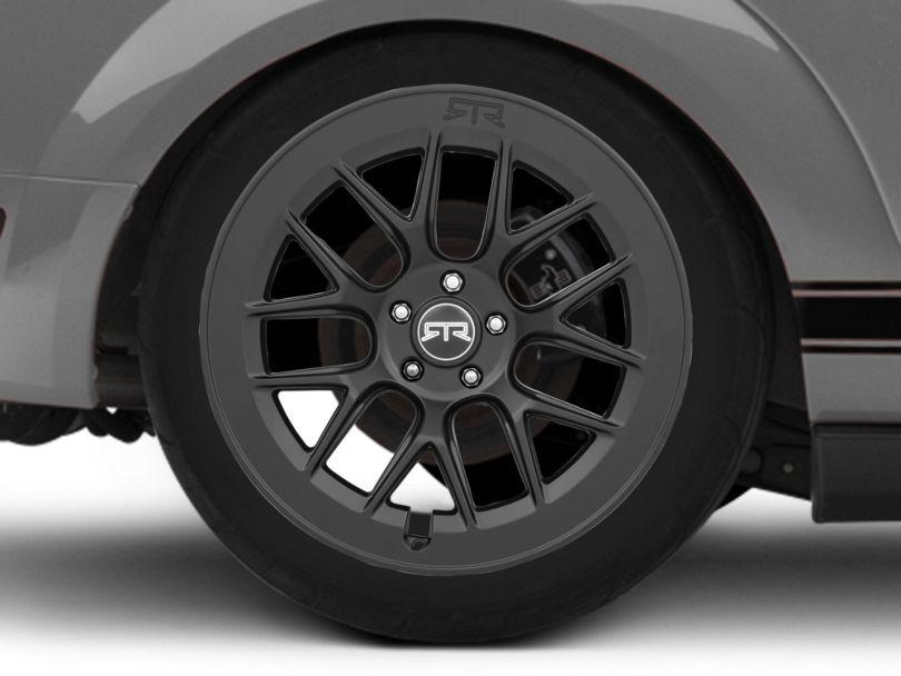 RTR Aero 7 Black Wheel; Rear Only; 20x10.5 (05-09 All)