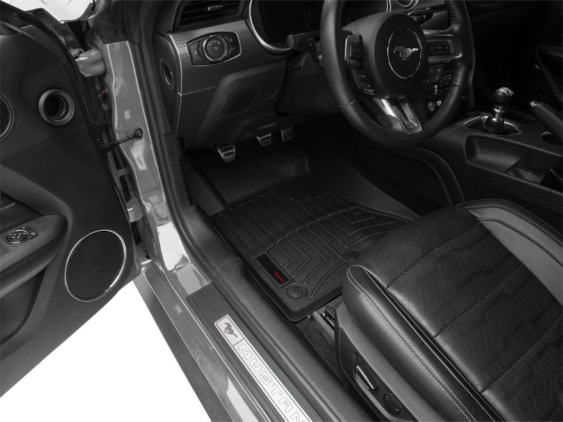 Weathertech DigitalFit Front & Rear Floor Liners - Black (15-20 All)