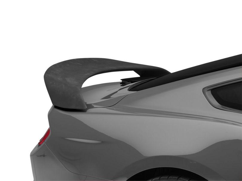 Icon Composites GT350R Track Edition TrueFit Rear Spoiler; Unpainted (15-20 Fastback)