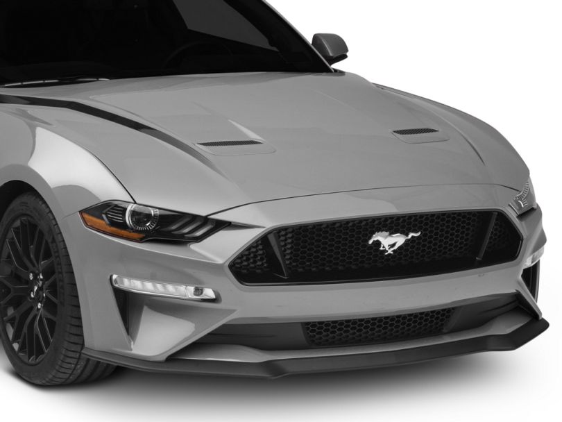 American Muscle Graphics Hood Accent Decal; Black (18-20 GT, EcoBoost)