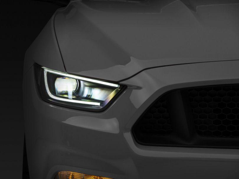 Raxiom Smoked LED Headlights (15-17 All; 18-19 GT350)