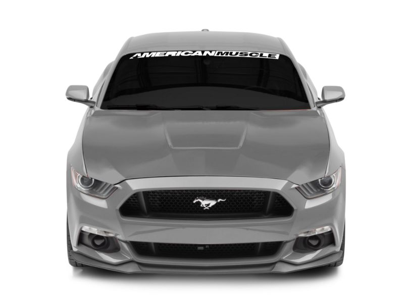 MP Concepts GT350 Style Aluminum Hood; Unpainted (15-17 GT, EcoBoost, V6)