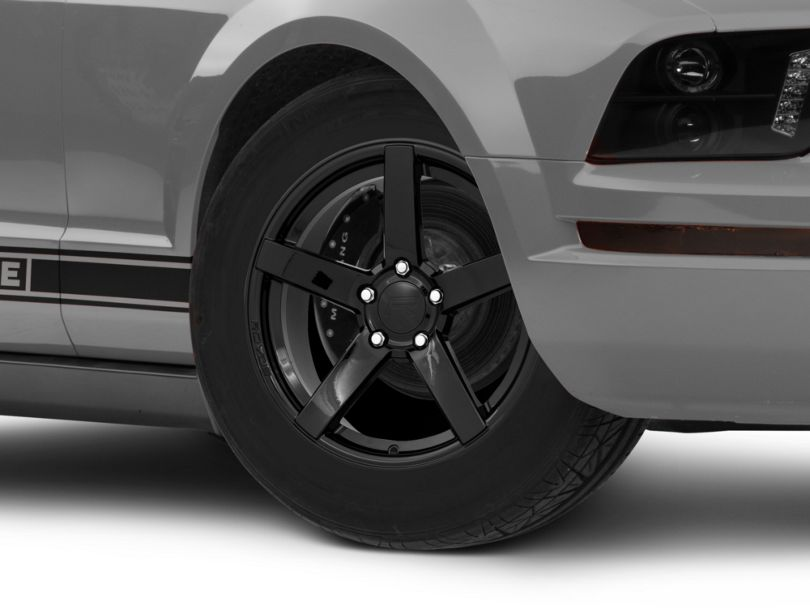 Rovos Durban Drag Gloss Black Wheel - 17x4.5 - Front Only (05-09 All)