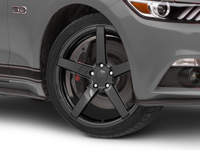 Rovos Durban Gloss Black Wheel - 19x8.5 (15-20 GT, EcoBoost, V6)
