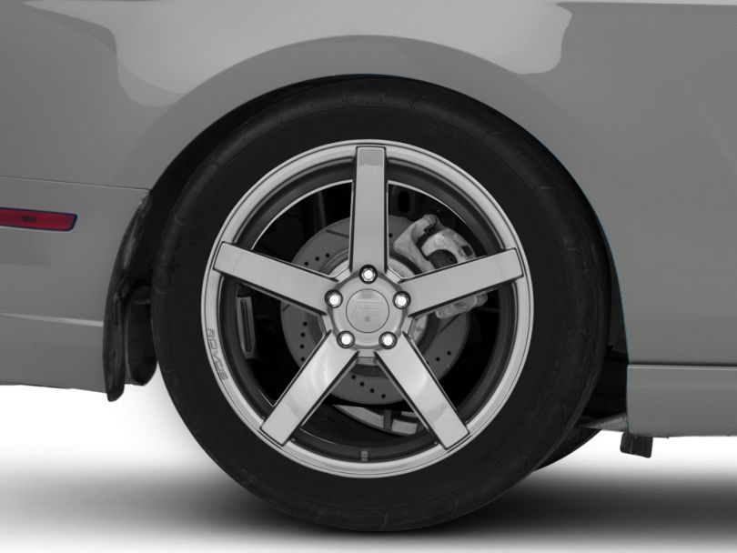 Rovos Durban Gunmetal Wheel; Rear Only; 19x10 (10-14 All)