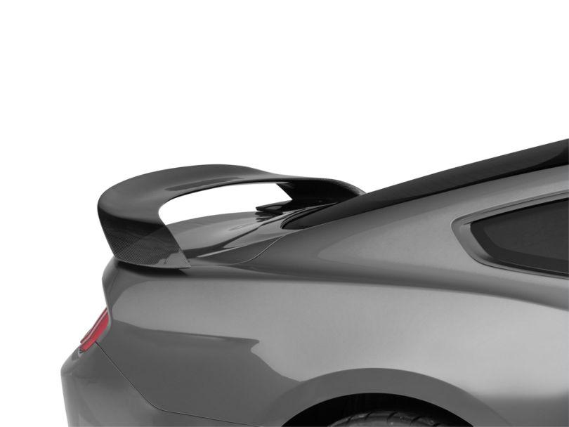 SpeedForm GT350R Style Rear Spoiler; Carbon Fiber (15-20 Fastback)