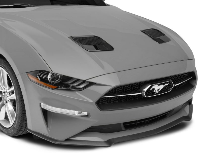 MP Concepts Hood Vents - Gloss Black (18-20 GT, EcoBoost)