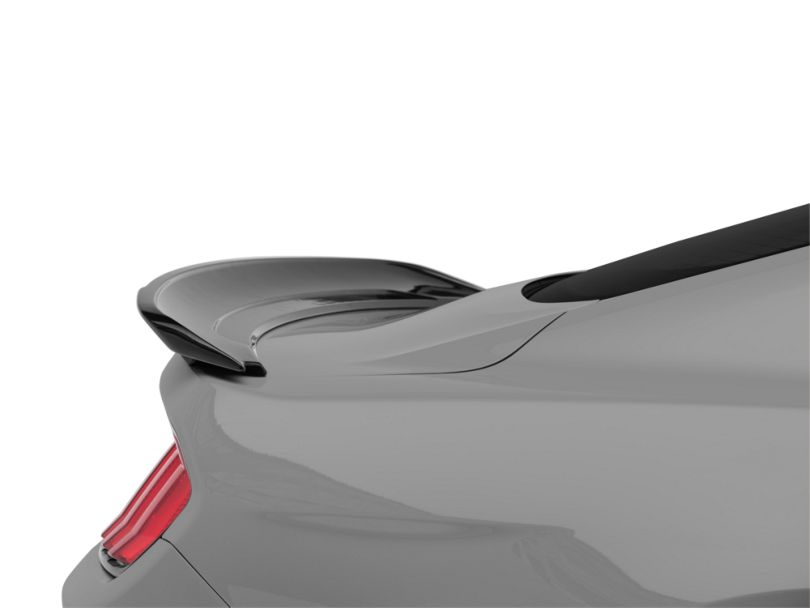 SpeedForm GT350 Style Track Pack Rear Spoiler - Gloss Shadow Black (15-20 All)