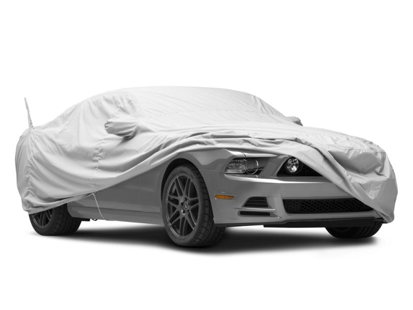 Covercraft WeatherShield HP Custom Fit Car Cover; Mustang Pony Logo (10-14 All)