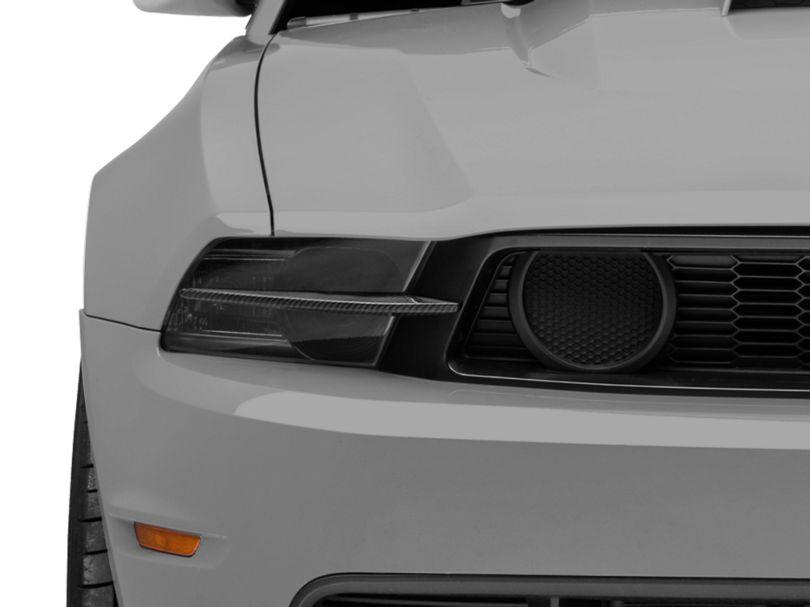 MMD Headlight Splitters - Carbon Fiber (10-12 GT)