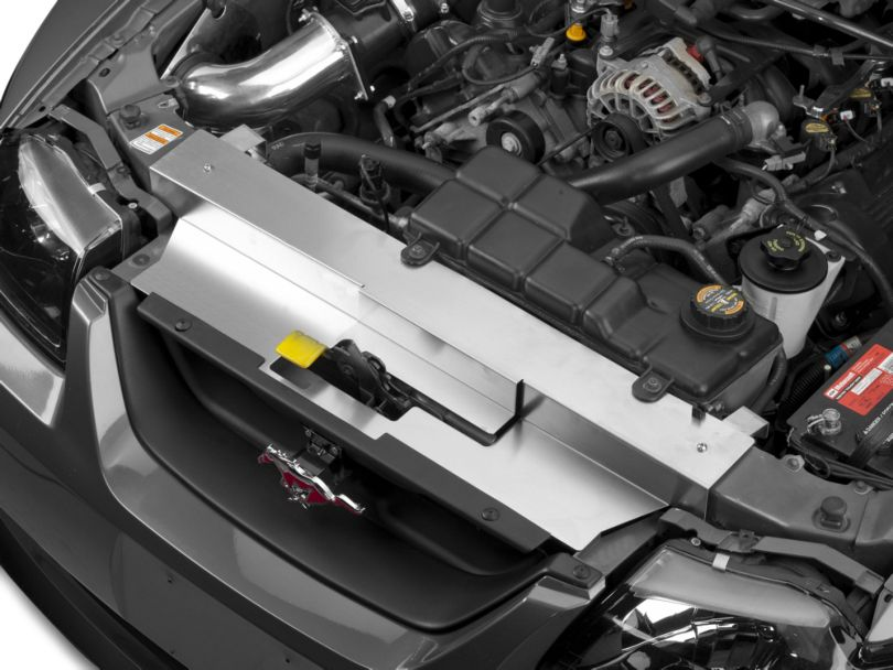 Modern Billet Brushed Stainless Steel Radiator Cover (99-04 All, Excluding 03-04 Cobra)