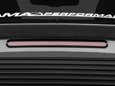 SpeedForm Third Brake Light Trim - Black (10-14 GT, V6)