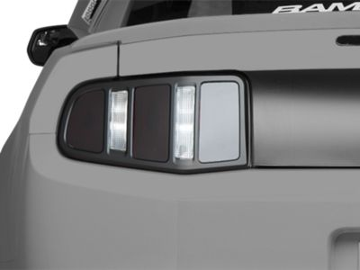 Add MMD Matte Black Tail Light Trim (10-12 All)