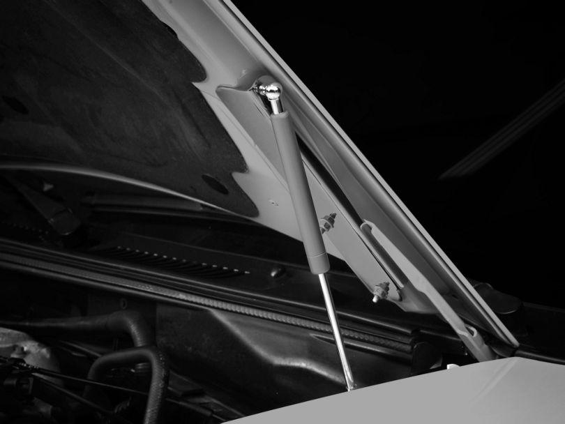 MMD Bolt On Hood Strut Kit - Chrome (94-98 All)