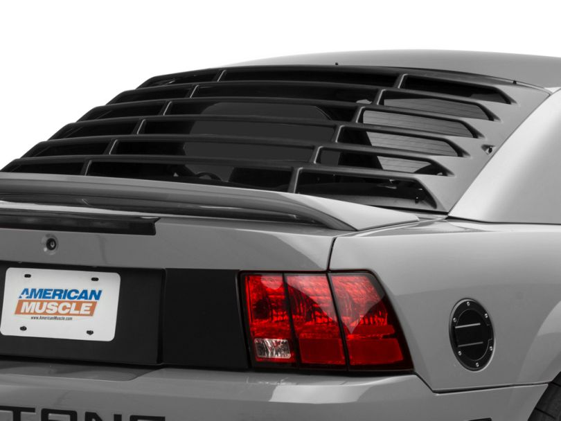 MMD Rear Window Louvers; Textured ABS (99-04 All)