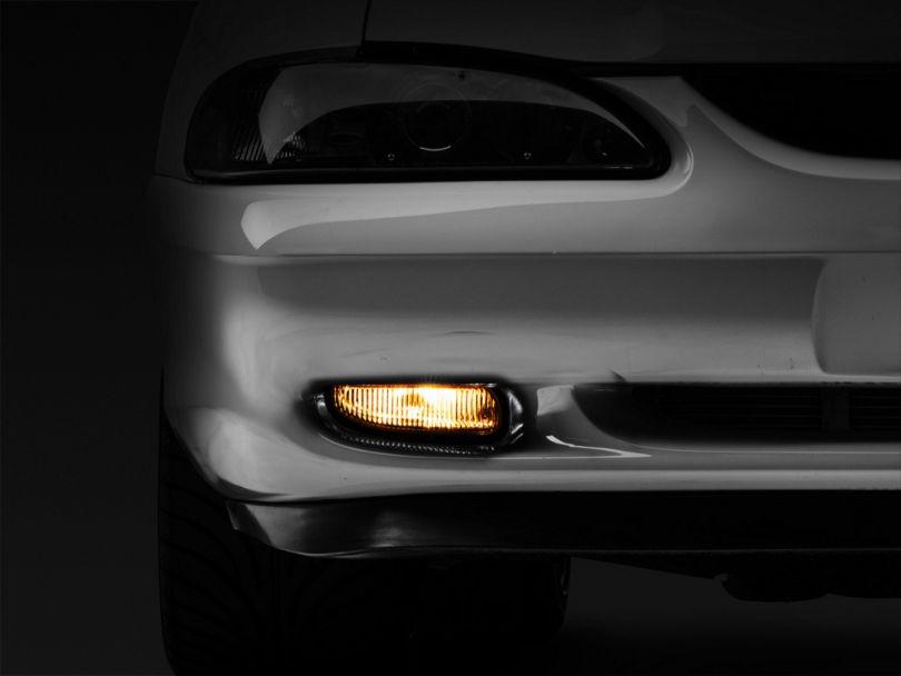 Axial Smoked Fog Lights - Pair (94-98 GT, V6)
