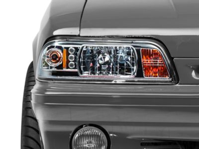 Axial Chrome One-Piece Headlights (87-93 All)