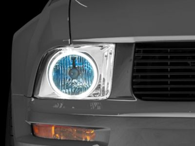 Axial Chrome Headlights - CCFL Halo (05-09 GT, V6)
