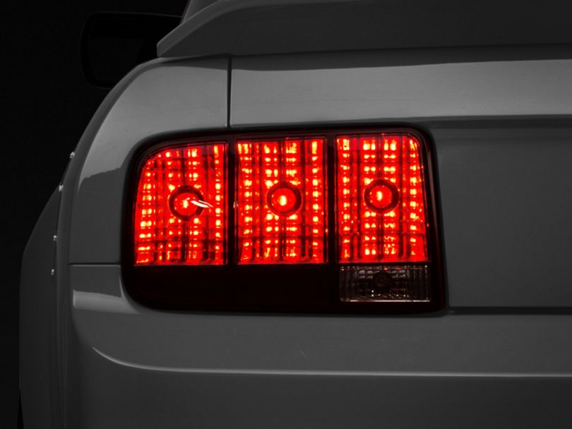 Raxiom Tail Lights; Smoked (05-09 All)