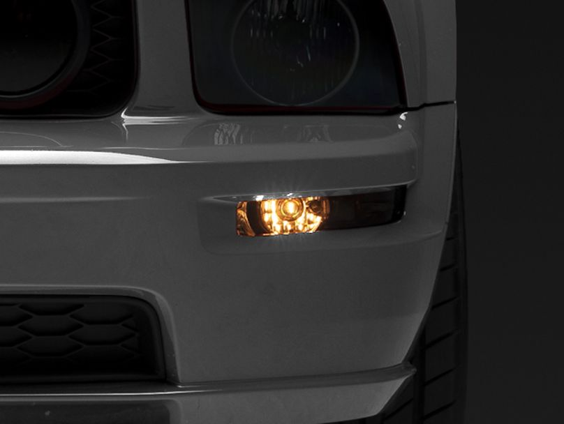 Axial Turn Signal Lights; Smoked (05-09 All)