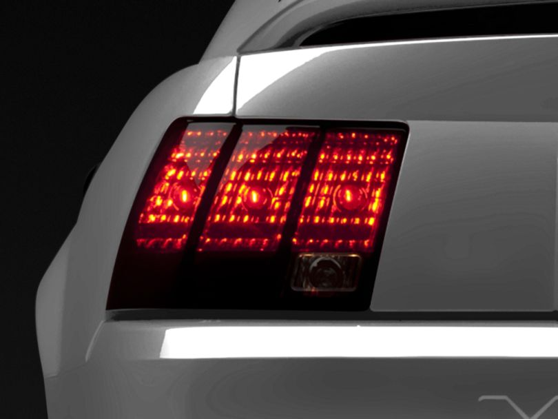 Raxiom Tail Lights; Smoked (99-04 All, Excluding 99-01 Cobra)