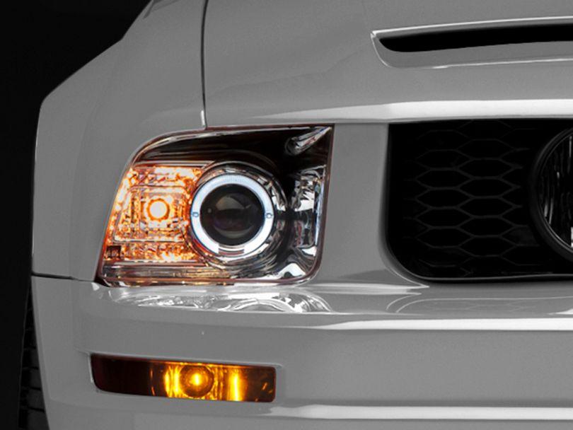 Raxiom 2010 Style Chrome Headlights (05-09 GT, V6)