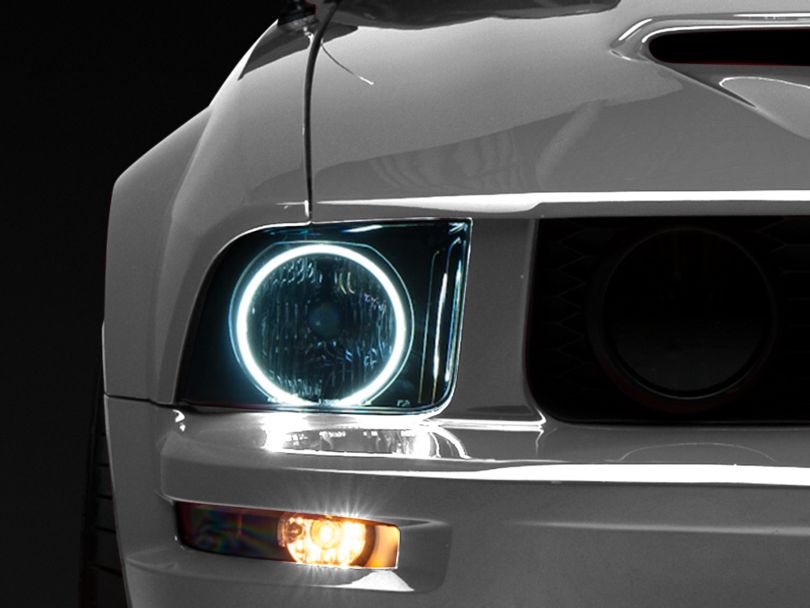 Axial CCFL Halo Projector Headlights - Smoked (05-09 GT, V6)