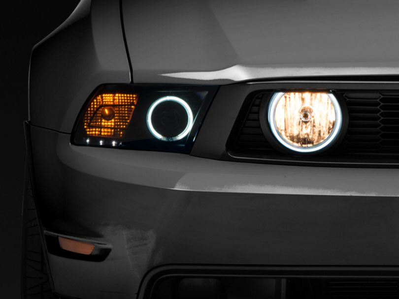 Raxiom LED Halo Fog Lights; Smoked (05-12 GT)