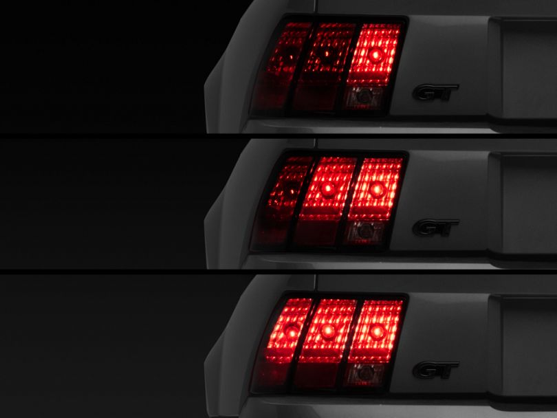 Raxiom Sequential Tail Light Kit; Plug-and-Play Harness (96-04 All; Excluding 99-01 Cobra)